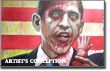 Pictured: could Obama be a zombie?
