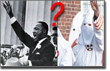 Pictured: could MLK JR. have hated black people?